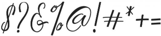 Camelie otf (400) Font OTHER CHARS