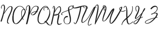 Camelie otf (400) Font UPPERCASE