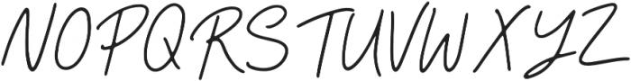 Camellia Regular ttf (400) Font UPPERCASE
