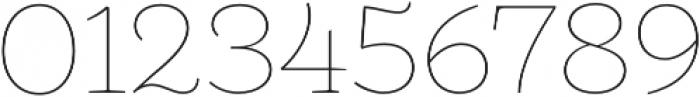 Camila Thin otf (100) Font OTHER CHARS