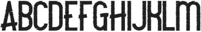 Camping Rough otf (400) Font LOWERCASE