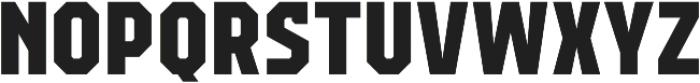 Campione Neue Sans ExtraBold otf (700) Font UPPERCASE