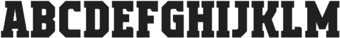 Campione Neue Serif ExtraBold otf (700) Font LOWERCASE