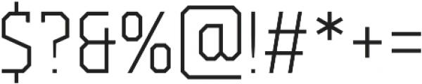 Campione Neue Serif Thin otf (100) Font OTHER CHARS