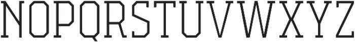 Campione Neue Serif Thin otf (100) Font UPPERCASE