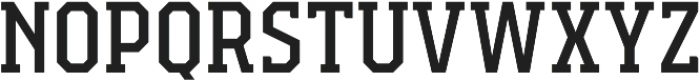Campione Neue Serif otf (400) Font UPPERCASE