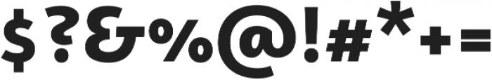 Campuni Black otf (900) Font OTHER CHARS