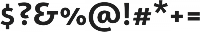 Campuni Bold otf (700) Font OTHER CHARS