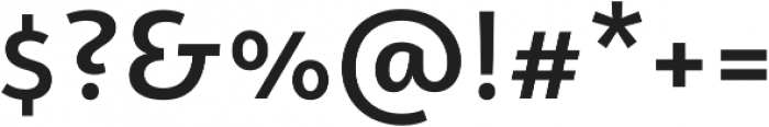 Campuni Medium otf (500) Font OTHER CHARS