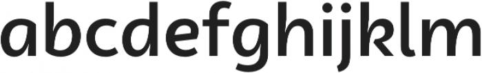 Campuni Medium otf (500) Font LOWERCASE