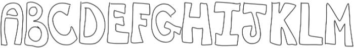 CanYouDigIt ttf (400) Font UPPERCASE