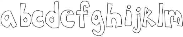 CanYouDigIt ttf (400) Font LOWERCASE