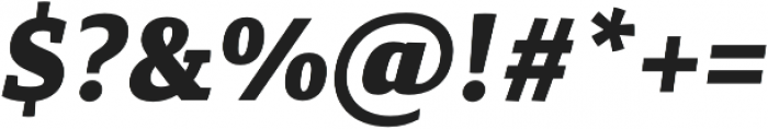 Canberra FY Black Italic otf (900) Font OTHER CHARS