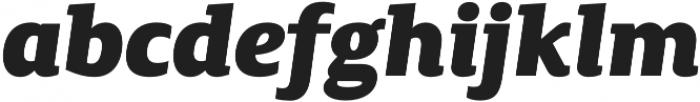 Canberra FY Black Italic otf (900) Font LOWERCASE