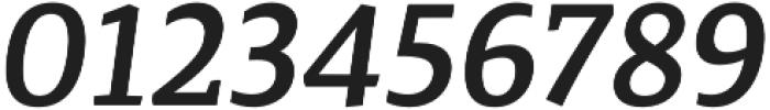 Canberra FY Medium Italic otf (500) Font OTHER CHARS