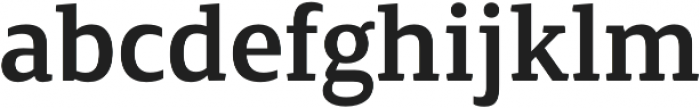 Canberra FY Medium otf (500) Font LOWERCASE
