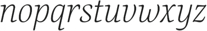 Canciller Extralight otf (200) Font LOWERCASE