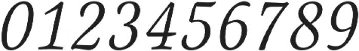 Canciller Light otf (300) Font OTHER CHARS