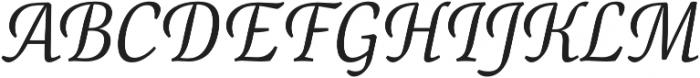 Canciller Light otf (300) Font UPPERCASE