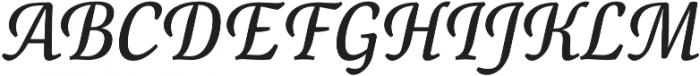 Canciller otf (400) Font UPPERCASE