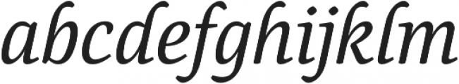 Canciller otf (400) Font LOWERCASE