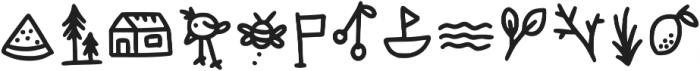 Canda Tawa Extra ttf (400) Font LOWERCASE