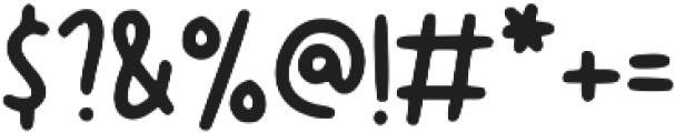 Canda Tawa ttf (400) Font OTHER CHARS