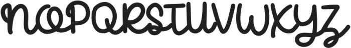 CandelaRegular otf (400) Font UPPERCASE