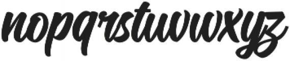 Candelion Bold otf (700) Font LOWERCASE