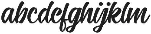 Candelion otf (400) Font LOWERCASE