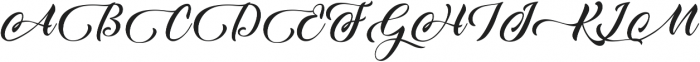 Candle Mustard ttf (400) Font UPPERCASE