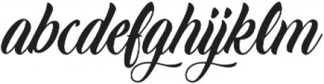 Candle Mustard ttf (400) Font LOWERCASE