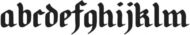 Candlebright otf (400) Font LOWERCASE