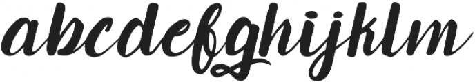 Candlelight otf (300) Font LOWERCASE