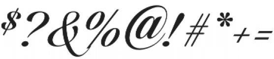 Candlescript Basic Three otf (400) Font OTHER CHARS