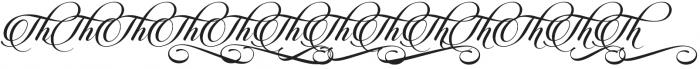 Candlescript Ligatures Mix otf (400) Font UPPERCASE