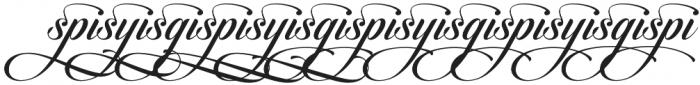 Candlescript Ligatures Mix otf (400) Font LOWERCASE