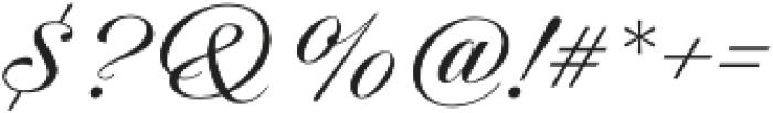 Candlescript Neue Regular otf (400) Font OTHER CHARS