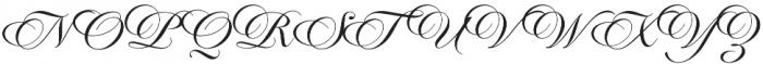 Candlescript Neue Regular otf (400) Font UPPERCASE