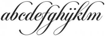 Candlescript Neue Regular otf (400) Font LOWERCASE