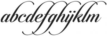 Candlescript Pro Regular otf (400) Font LOWERCASE