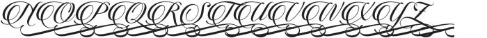 Candlescript Swashes Three Alt otf (400) Font UPPERCASE