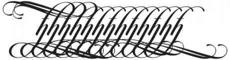 Candlescript h m n additional otf (400) Font UPPERCASE