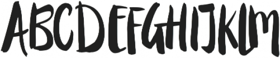 Candy Rose ttf (400) Font UPPERCASE