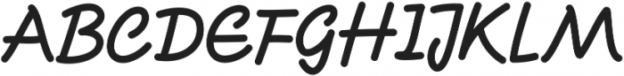CandySticks Solid Regular ttf (400) Font UPPERCASE