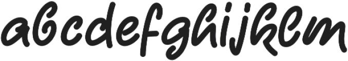 CandySticks Solid Regular ttf (400) Font LOWERCASE