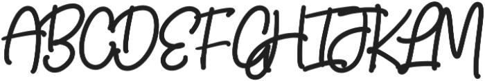 Candyhouse Alt Regular otf (400) Font UPPERCASE
