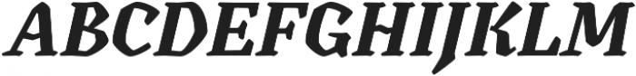 Canilari Pro Bold It otf (700) Font UPPERCASE