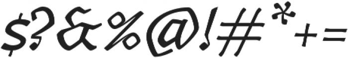 Canilari Pro It otf (400) Font OTHER CHARS
