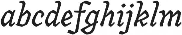 Canilari Pro It otf (400) Font LOWERCASE